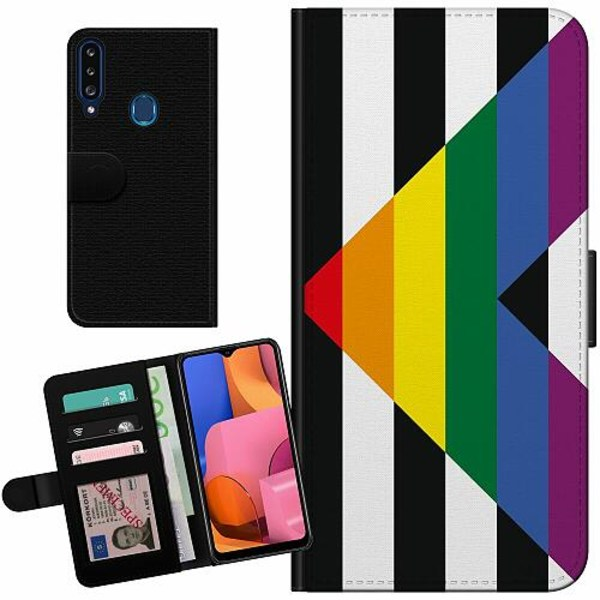 Samsung Galaxy A20s Billigt Fodral Pride - Straight Ally