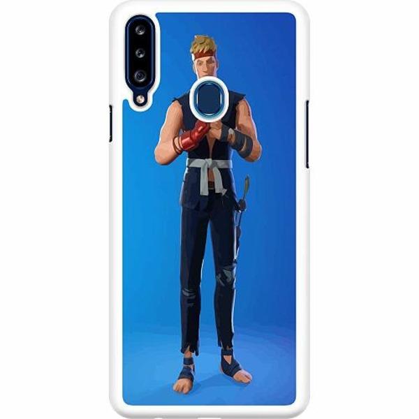 Samsung Galaxy A20s Hard Case (Vit) Fortnite 2021