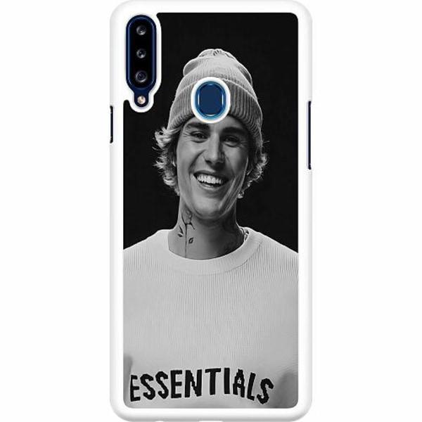 Samsung Galaxy A20s Hard Case (Vit) Justin Bieber 2021