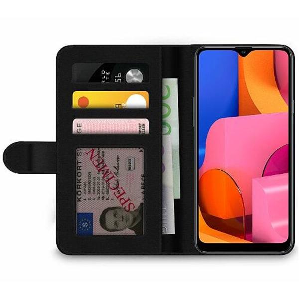 Samsung Galaxy A20s Wallet Case Fortnite Pink Bear