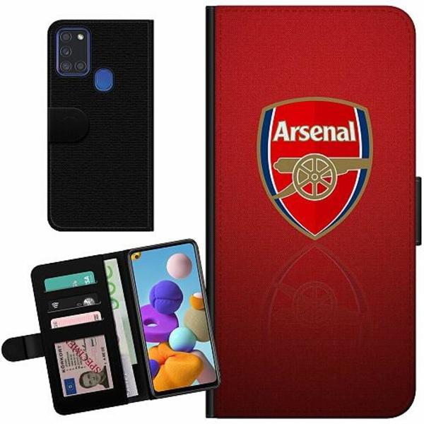Samsung Galaxy A21s Billigt Fodral Arsenal