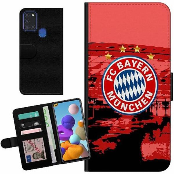 Samsung Galaxy A21s Billigt Fodral FC Bayern München