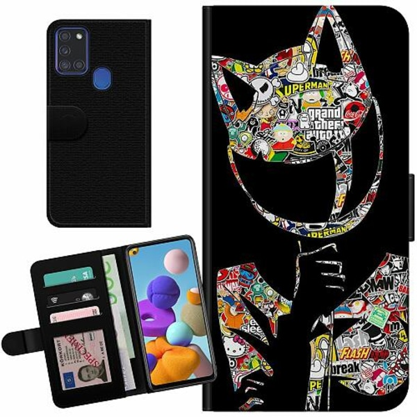 Samsung Galaxy A21s Billigt Fodral Stickers