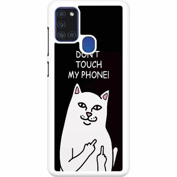 Samsung Galaxy A21s Hard Case (Vit) My Phone