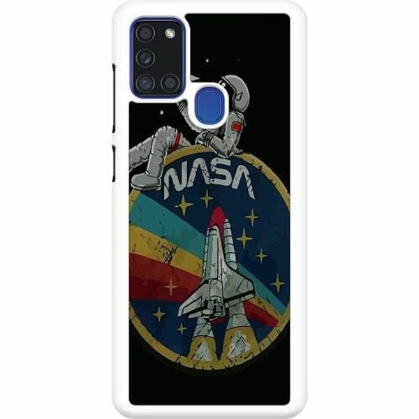 Samsung Galaxy A21s Hard Case (Vit) Nasa
