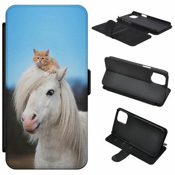 Samsung Galaxy A41 Mobilfodral Häst & Katt