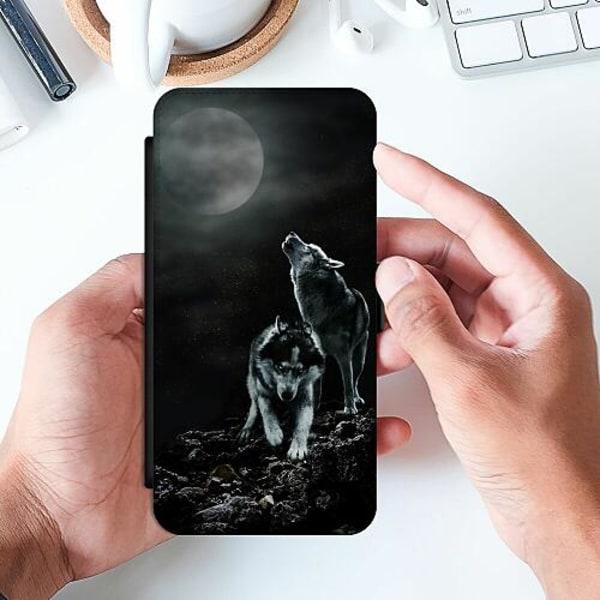 Samsung Galaxy A20e Slimmat Fodral Howling Wolves