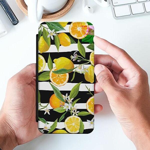 Samsung Galaxy A20e Slimmat Fodral Lemon Party