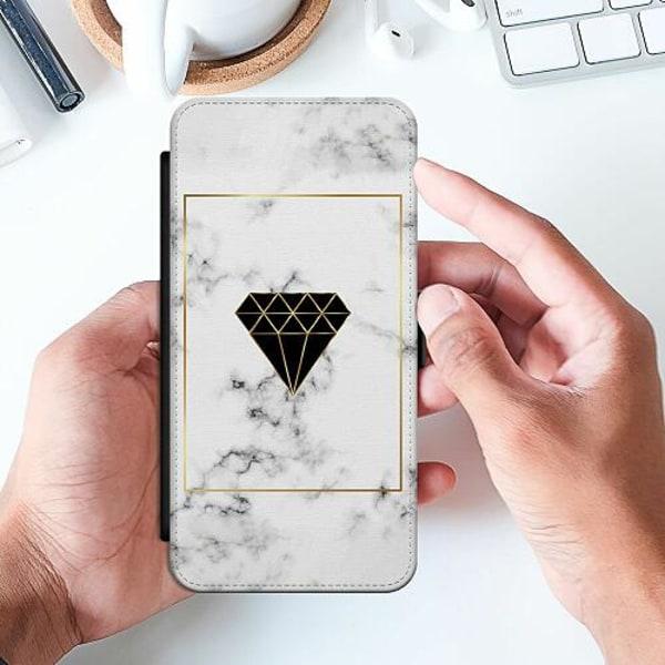Samsung Galaxy A20e Slimmat Fodral Marble Diamond