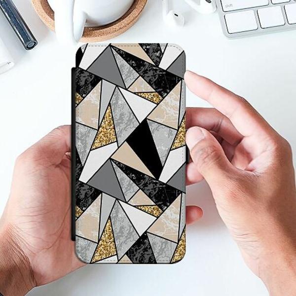 Samsung Galaxy A20e Slimmat Fodral Marble Print