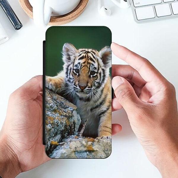 Samsung Galaxy A20e Slimmat Fodral Tiger