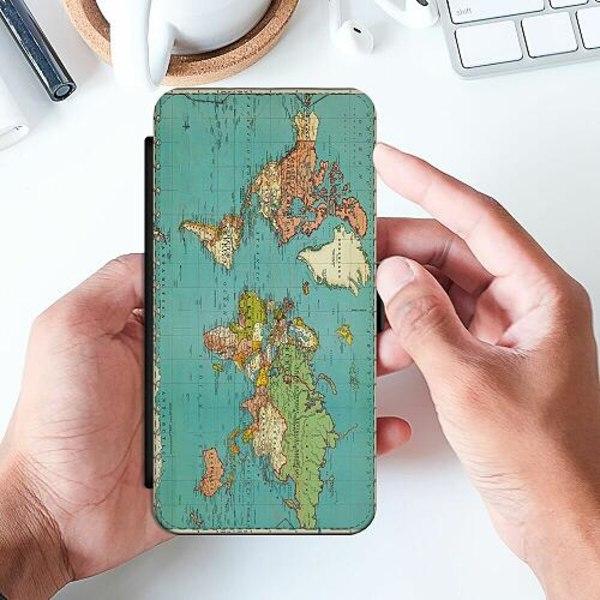 Apple iPhone 12 mini Slimmat Fodral World Map