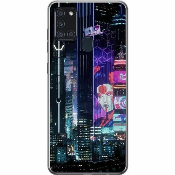 Samsung Galaxy A21s Thin Case Cyberpunk 2077