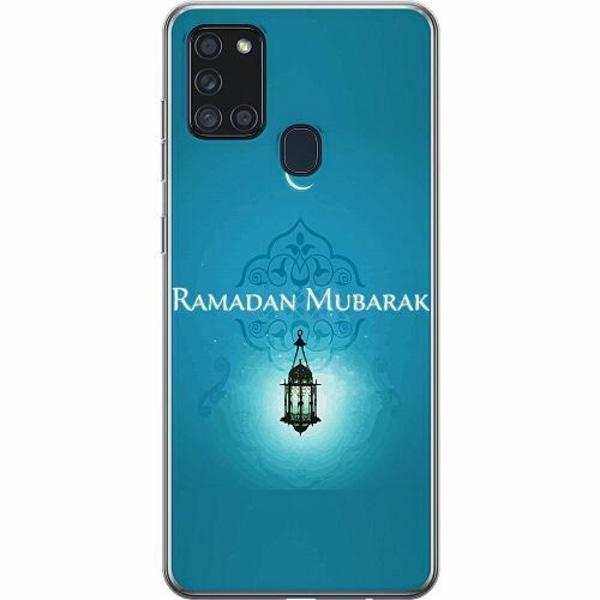 Samsung Galaxy A21s Thin Case Ramadan Mubarak