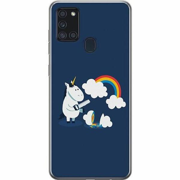 Samsung Galaxy A21s Thin Case UNICORN