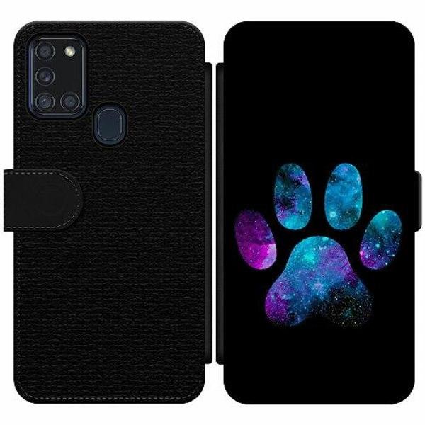 Samsung Galaxy A21s Wallet Slim Case Galaxy Paw