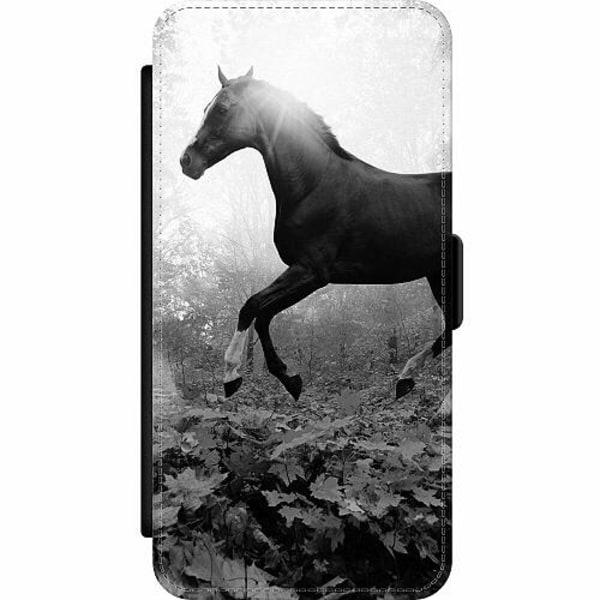 Samsung Galaxy S8 Wallet Slim Case Häst / Horse