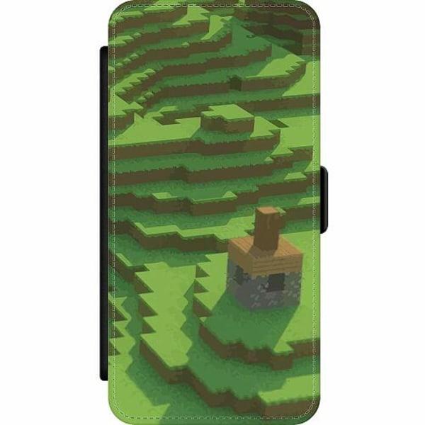 Apple iPhone SE (2020) Wallet Slim Case MineCraft