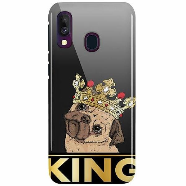 Samsung Galaxy A40 LUX Mobilskal (Glansig) King