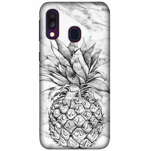 Samsung Galaxy A40 LUX Mobilskal (Matt) Ananas