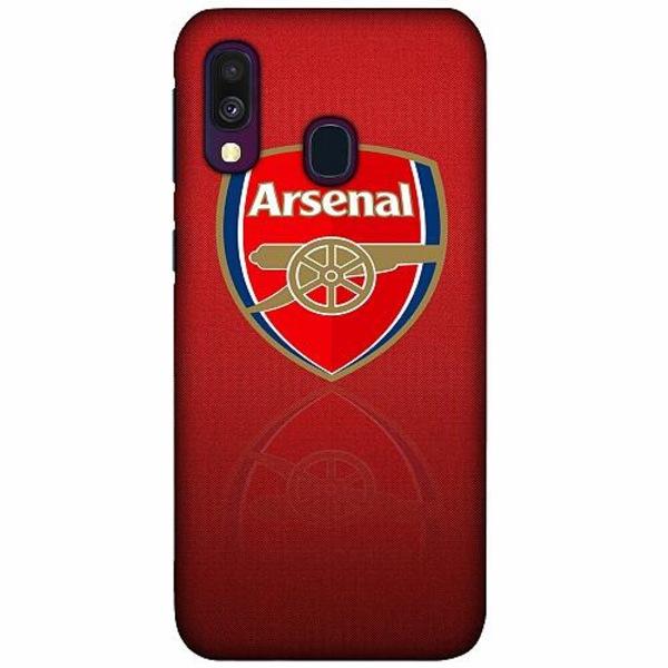 Samsung Galaxy A40 LUX Mobilskal (Matt) Arsenal