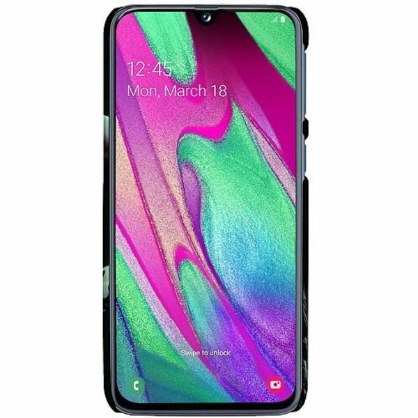 Samsung Galaxy A40 LUX Mobilskal (Matt) Billie Eilish 2021