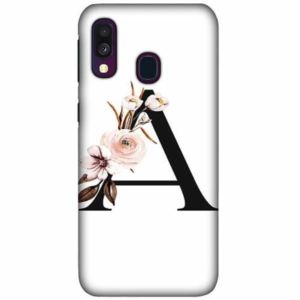 Samsung Galaxy A40 LUX Mobilskal (Matt) Bokstäver