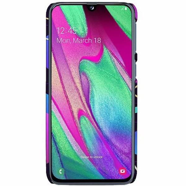 Samsung Galaxy A40 LUX Mobilskal (Matt) Cyber