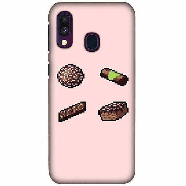 Samsung Galaxy A40 LUX Mobilskal (Matt) Dammsugare pixel art