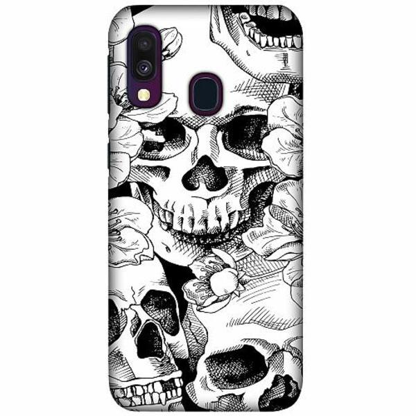 Samsung Galaxy A40 LUX Mobilskal (Matt) Döskalle