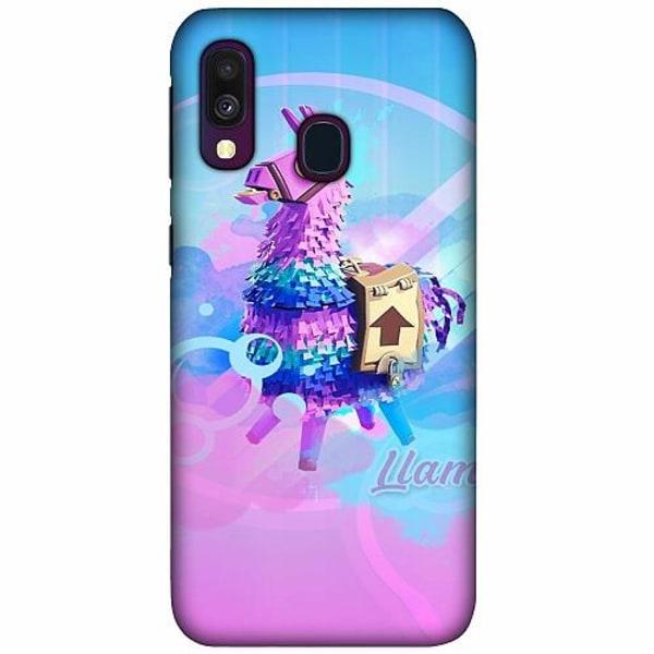 Samsung Galaxy A40 LUX Mobilskal (Matt) Fortnite Loot Llama