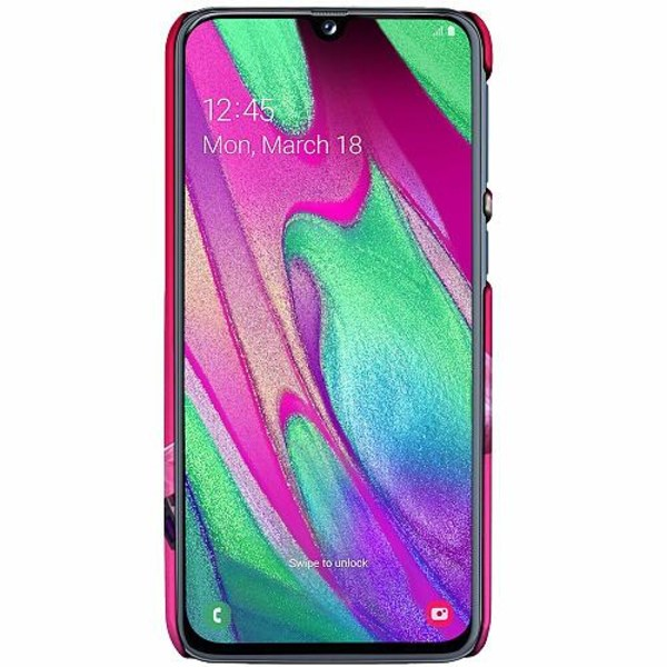 Samsung Galaxy A40 LUX Mobilskal (Matt) Fortnite Pink Bear
