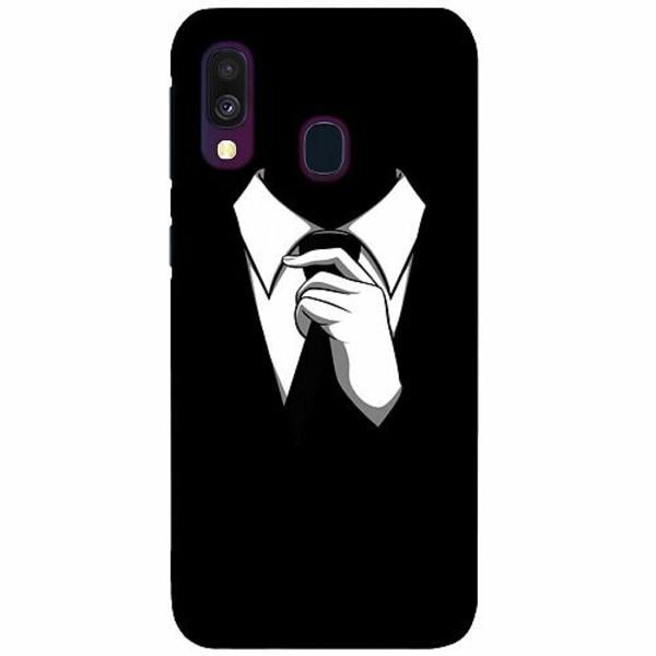 Samsung Galaxy A40 LUX Mobilskal (Matt) Gentleman