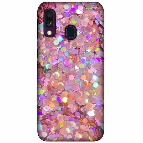 Samsung Galaxy A40 LUX Mobilskal (Matt) Glitter