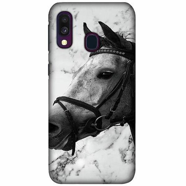 Samsung Galaxy A40 LUX Mobilskal (Matt) Häst