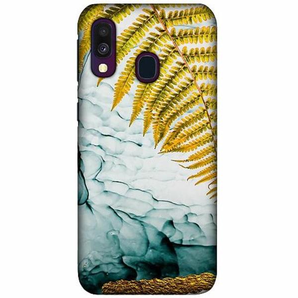 Samsung Galaxy A40 LUX Mobilskal (Matt) Havana