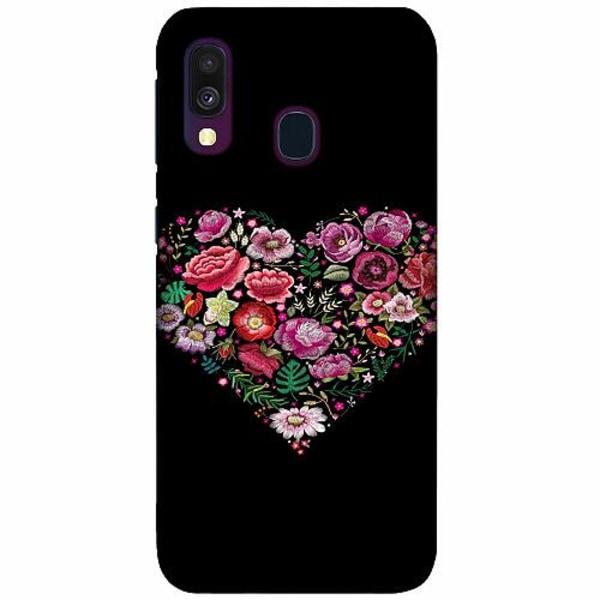 Samsung Galaxy A40 LUX Mobilskal (Matt) HEARTIN'