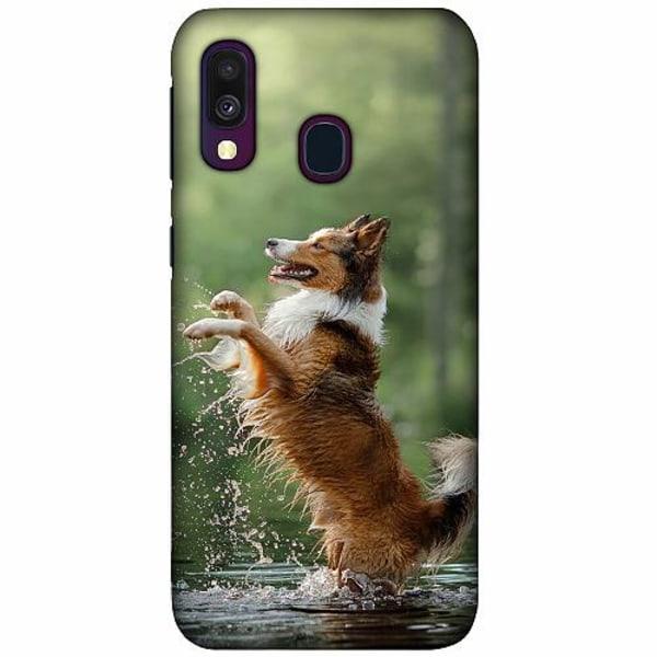 Samsung Galaxy A40 LUX Mobilskal (Matt) Hund