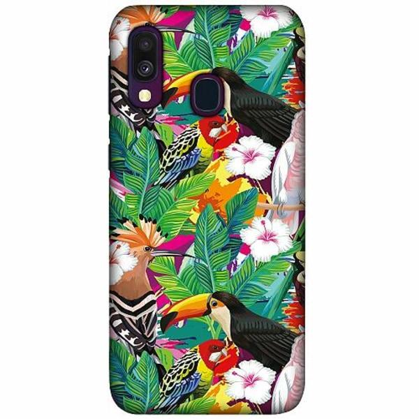 Samsung Galaxy A40 LUX Mobilskal (Matt) Jungle Drum