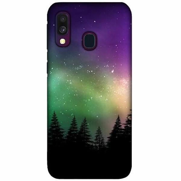 Samsung Galaxy A40 LUX Mobilskal (Matt) Northern Lights