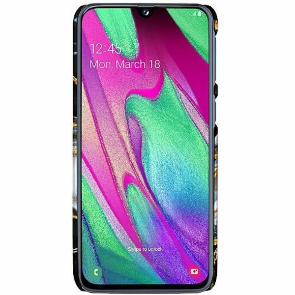 Samsung Galaxy A40 LUX Mobilskal (Matt) Onyx