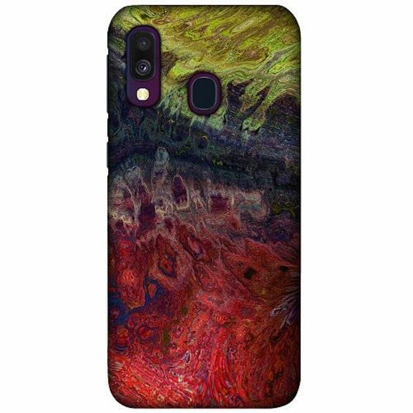 Samsung Galaxy A40 LUX Mobilskal (Matt) Pattern