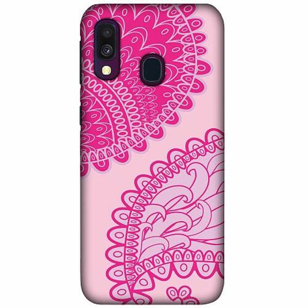 Samsung Galaxy A40 LUX Mobilskal (Matt) Pinkish Life