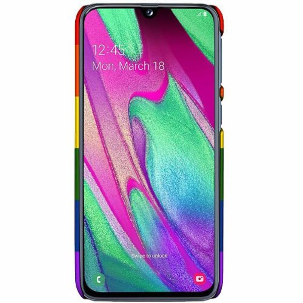 Samsung Galaxy A40 LUX Mobilskal (Matt) Pride