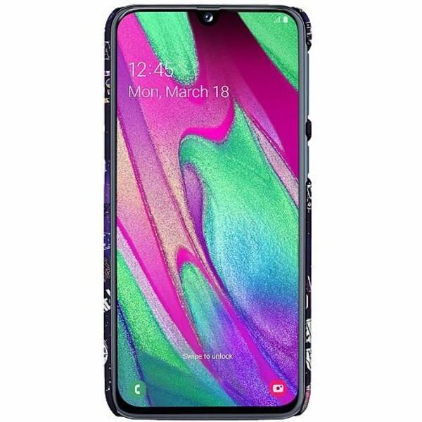 Samsung Galaxy A40 LUX Mobilskal (Matt) Rock