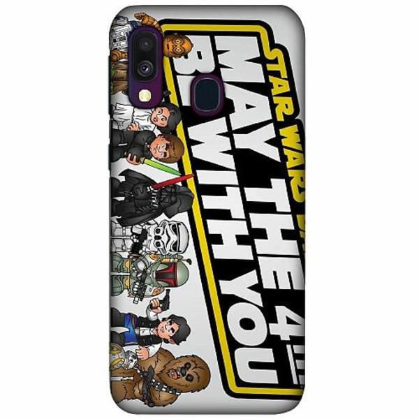 Samsung Galaxy A40 LUX Mobilskal (Matt) Star Wars