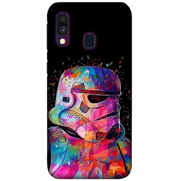 Samsung Galaxy A40 LUX Mobilskal (Matt) Star Wars Stormtrooper