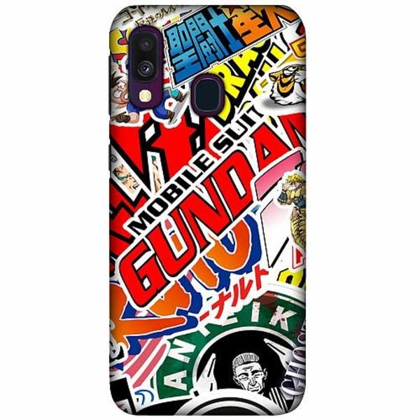 Samsung Galaxy A40 LUX Mobilskal (Matt) Stickers