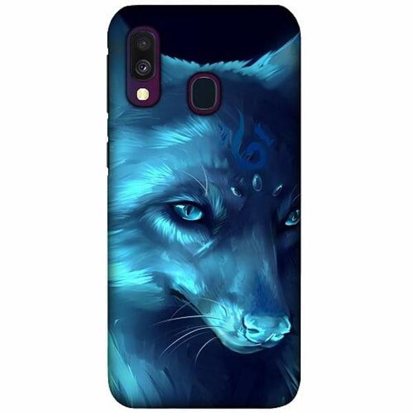 Samsung Galaxy A40 LUX Mobilskal (Matt) Wolf / Varg