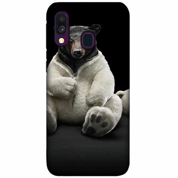 Samsung Galaxy A40 LUX Mobilskal (Matt) WTF